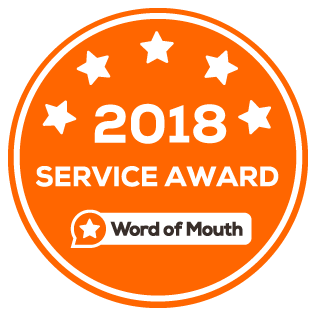 Word of Mouth Service Award - 2018