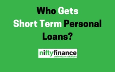 Who Gets Short Term Personal Loans?